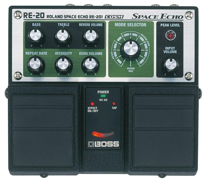 BOSS RE-20 Space Echo《エフェクター/ディレイ/テープエコー・シミュレーター》【送料無料】