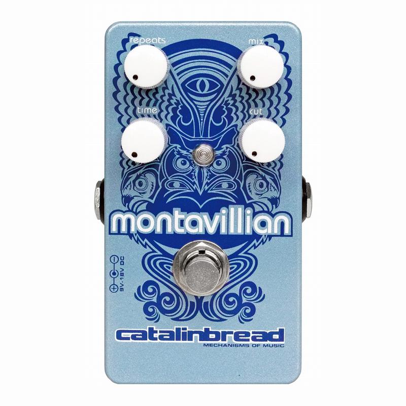Catalinbread Montavillian Echo 《エフェクター/ディレイ/エコー》【送料無料】【smtb-u】