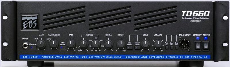 EBS TD660 《ベースヘッドアンプ》【送料無料】【smtb-u】