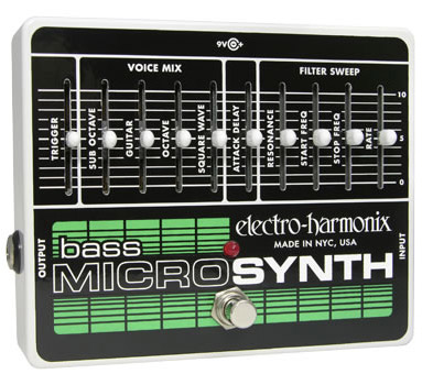 Electro Harmonix Bass MicroSynth 《エフェクター/ベース用シンセサイザー》【送料無料】【smtb-u】