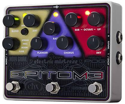 多様な Electro Electro Harmonix EPITOME Harmonix 《3in1空間系マルチエフェクター》 EPITOME【送料無料】, 八女市:8f90a231 --- canoncity.azurewebsites.net
