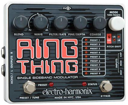 Electro Harmonix Ring Thing 《エフェクター/リングモジュレーター》【送料無料】