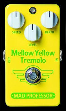 MAD PROFESSOR New Yellow Mellow 《エフェクター/トレモロ》【送料無料】【smtb-u】 Tremolo