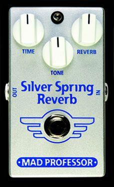 MAD PROFESSOR Silver Spring Reverb 《エフェクター/リバーブ》【送料無料】【smtb-u】