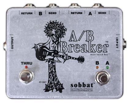 Sobbat A/B Breaker《エフェクター/A/Bボックス》【送料無料】【smtb-u】