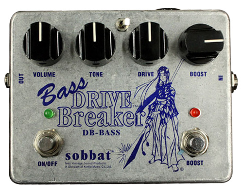 Sobbat Drive Breaker Bass《エフェクター/ディストーション》【送料無料】【smtb-u】