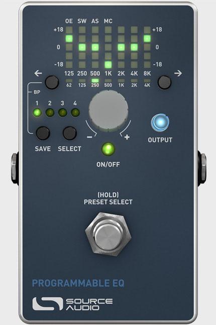 Source Audio SA170 Programmable EQ 《エフェクター/イコライザー》【送料無料】 【smtb-u】
