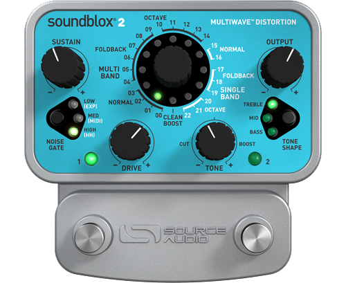 Source Audio SA220 Multiwave Distortion 《エフェクター/ディストーション》【送料無料】 【smtb-u】