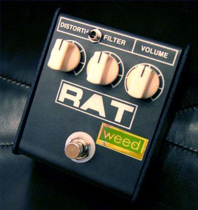 weed RAT mod / 2-WAY Germa 《エフェクター/ディストーション》【送料無料】
