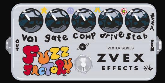 Z-VEX Vexter Series FUZZ FACTORY (エフェクター/ファズ)(送料無料)(ご予約受付中)