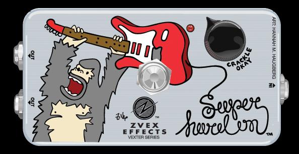 Z-VEX Vexter Series Super Hard On (エフェクター/ブースター)(送料無料)(マンスリープレゼント)