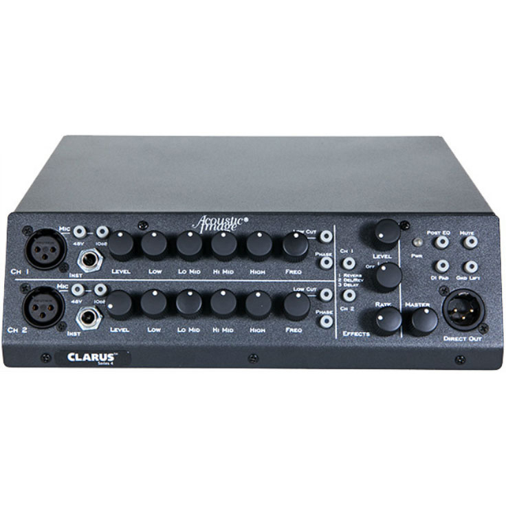 Acoustic Image 601IA plus Clarus 2 plus 2ch 600W integraged Amp w/Effects《アンプ》【送料無料】【次回入荷分ご予約受付中】