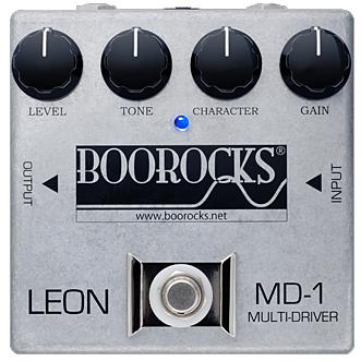 BOOROCKS LEON Multi-Driver MD-1 《エフェクター/ブースター~ディストーション》【送料無用】