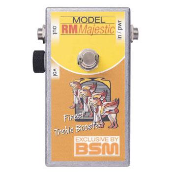 BSM RM Majestic 《エフェクター/ カスタムメイド・トレブルブースター》【送料無料】【納期未定・ご予約受付中】