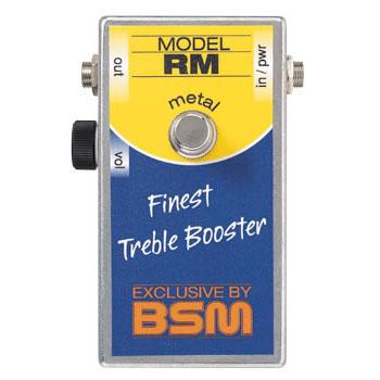 BSM RM Metal 《エフェクター/ ハイゲイン・トレブルブースター》【送料無料】【納期未定・ご予約受付中】