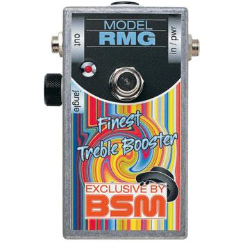 "BSM RMG""效应 / 罗湖增益和高音助推器。"""
