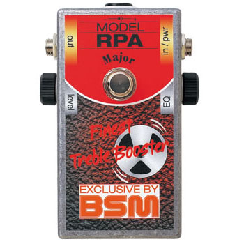 BSM RPA Major 《エフェクター/ カスタムメイド・トレブルブースター》【送料無料】【納期未定・ご予約受付中】