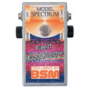 BSM Spectrum 《エフェクター/ カスタムメイド・トレブルブースター》【送料無料】【納期未定・ご予約受付中】