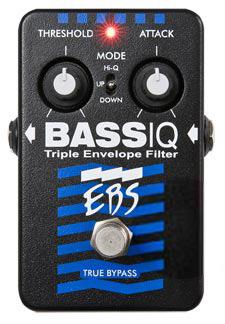 EBS BassIQ 《エフェクター/ベース用アナログエンベロープフィルター》【送料無料】【smtb-u】