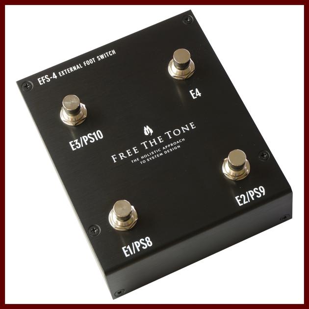 Free The Tone EFS-4 (Black)《ARC-3用フットスイッチ》【受注生産品】【送料無料】