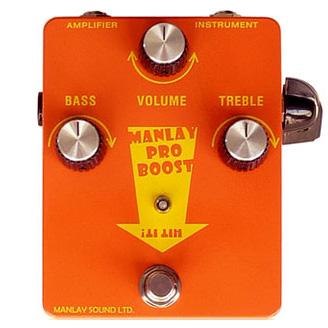 Manlay Sound Manlay Pro Boost 《エフェクター/ブースター~ディストーション》【次回入荷分ご予約受付中】