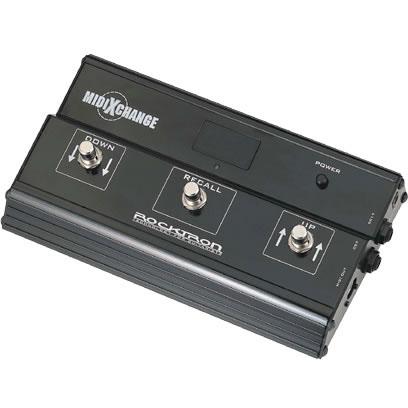 Rocktron Midi Xchange 《 ポータブルMIDI フットスイッチ with スマートコントローラー 》【送料無料】【3月入荷予定・ご予約受付中】