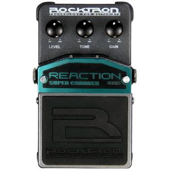 Rocktron Reaction Super Charger 《エフェクター/ オーバードライブ 》【送料無料】