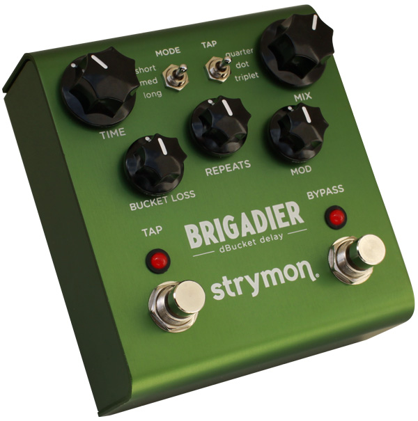 次世代ディレイ 配送員設置送料無料 strymon BRIGADIER 《エフェクター ディレイ》 送料無料 驚きの値段で