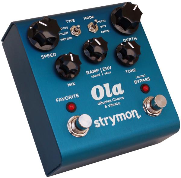 きらびやかでオーガニックなサウンド strymon 激安超特価 Ola Chorus 送料無料 コーラス》 売り出し 《エフェクター