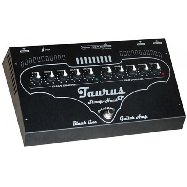 Taurus StompHead 1 BlackLine SH1BL《ペダルサイズ・ギターヘッドアンプ》【送料無料】