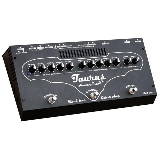 Taurus StompHead 3 BlackLine SH3BL《ペダルサイズ・ギターヘッドアンプ》【送料無料】