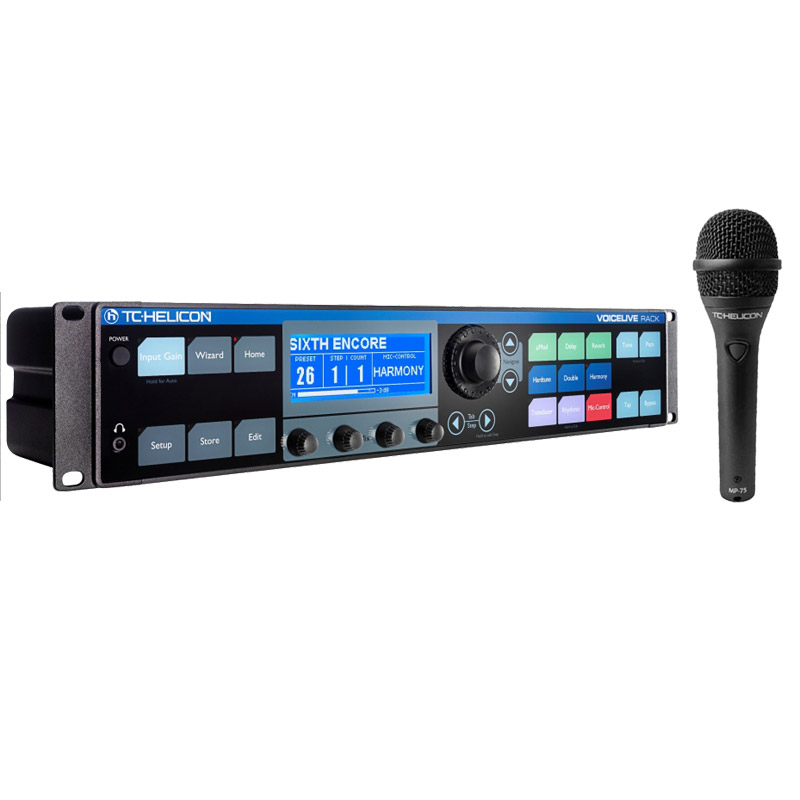 TC Helicon VoiceLive Rack 《プログラマブル・マイクチャンネル/ボーカル・エフェクト・プロセッサー》【送料無料】