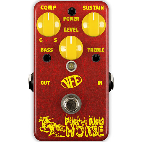 VFE Pedals Fiery Red Horse 《エフェクター/ファズ》【送料無料】