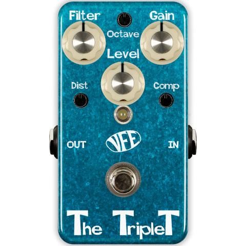 VFE Pedals THE TRIPLET 《エフェクター/コンプレッサー/オクターバー/ディストーション》【送料無料】
