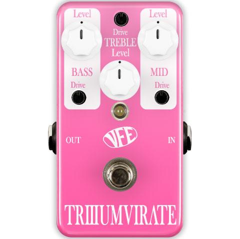 VFE Pedals Triumvirate 《エフェクター/ディストーション》【送料無料】