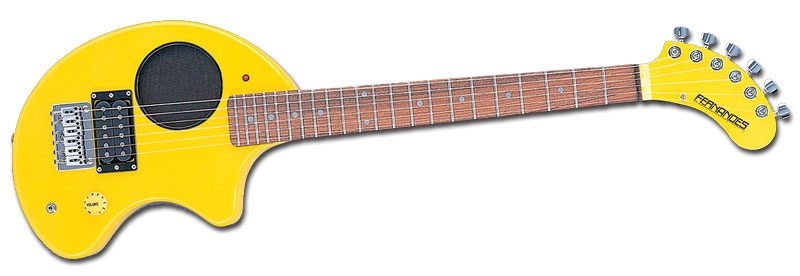FERNANDES ZO-3 (YELLOW)(送料無料)(弦2セットプレゼント)