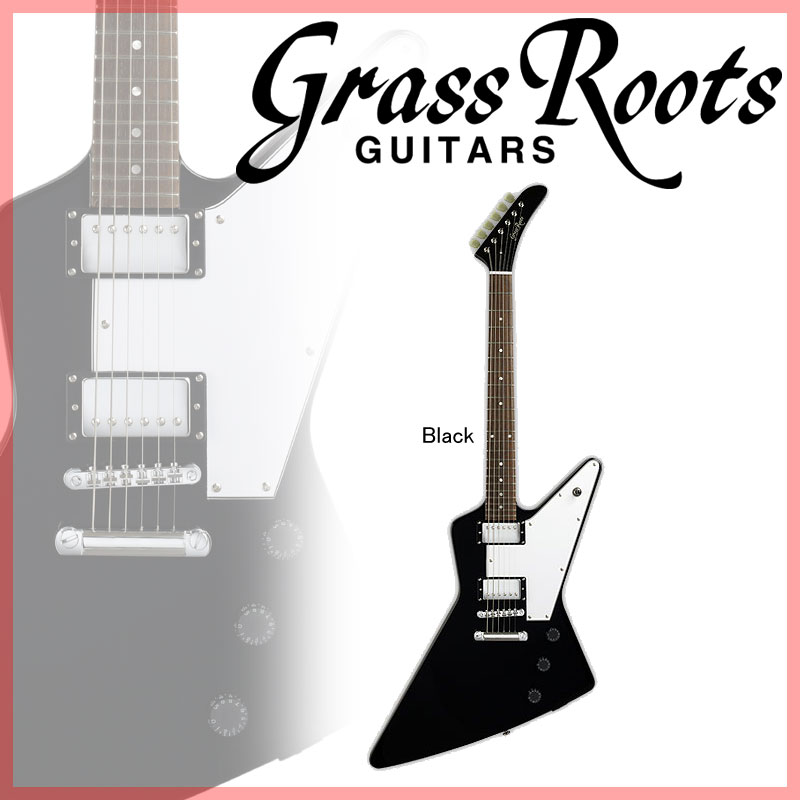 Grass Roots G-EX-58 (Black)【送料無料】