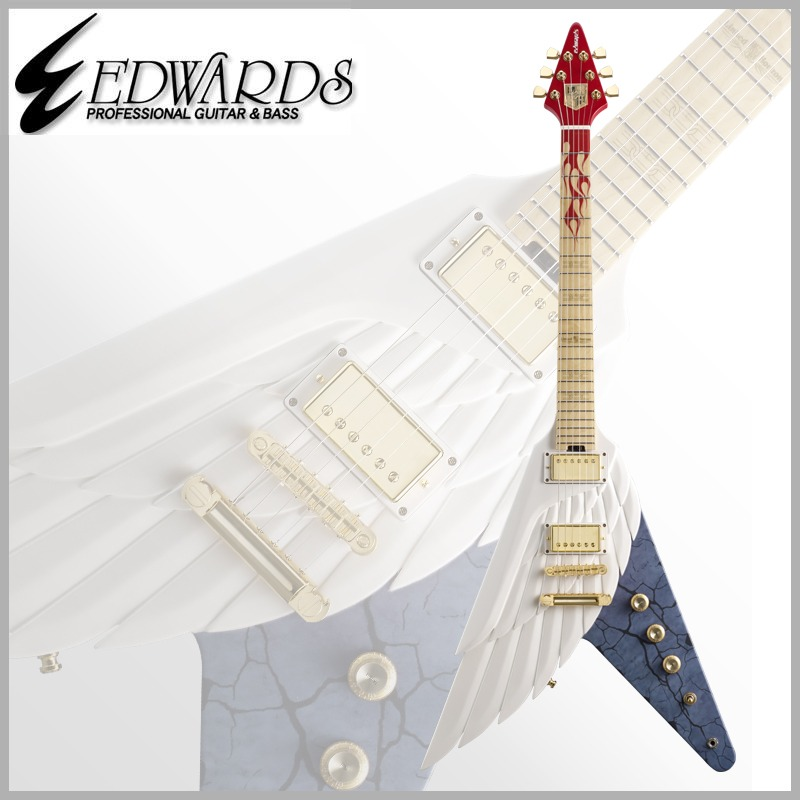 【エレキギター】《エドワーズ》 EDWARDS Artist Series REVO Model E-Flying Freiheit[ Revo / Linked Horizon ]【送料無料】
