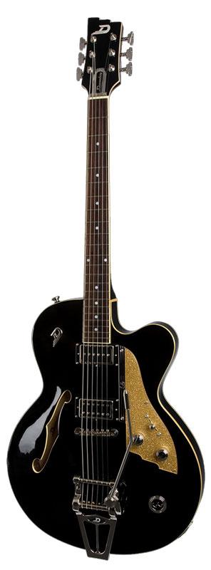 より豊かな鳴りとトーン Duesenberg C.C. DCC-BK (Black) エレキギター【送料無料】【受注生産品】