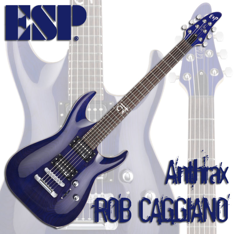 ESP Signature Series ROB CAGGIANO(See Thru Purple)【受注生産品】【送料無料】【smtb-u】