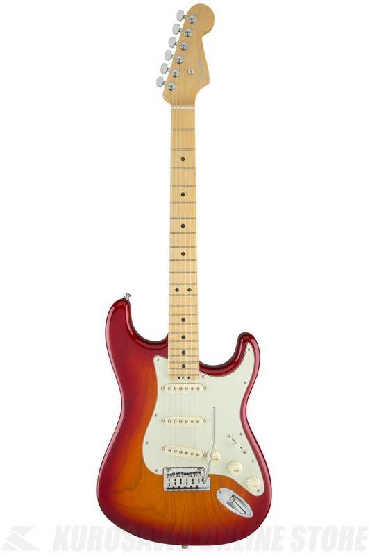 Fender American Elite Stratocaster, Maple Fingeboard, Aged Cherry Burst (Ash)《エレキギター》