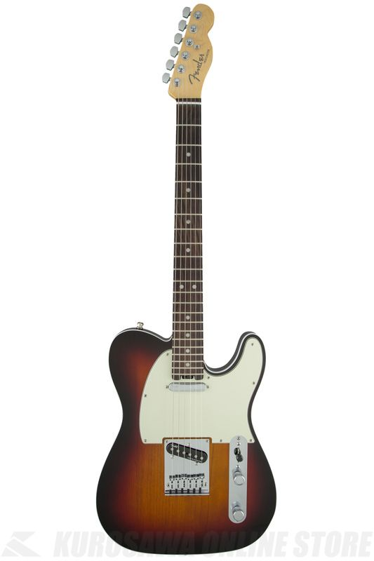 Fender American Elite Telecaster, Rosewood Fingerboard, 3-Color Sunburst《エレキギター》