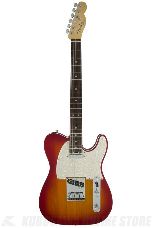 Fender American Elite Telecaster, Rosewood Fingerboard, Aged Cherry Burst《エレキギター》