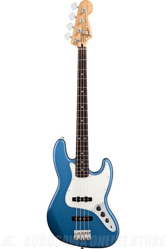Fender Standard Series / Standard Jazz Bass, Pau Ferro Fingerboard, Lake Placid Blue/0146203502
