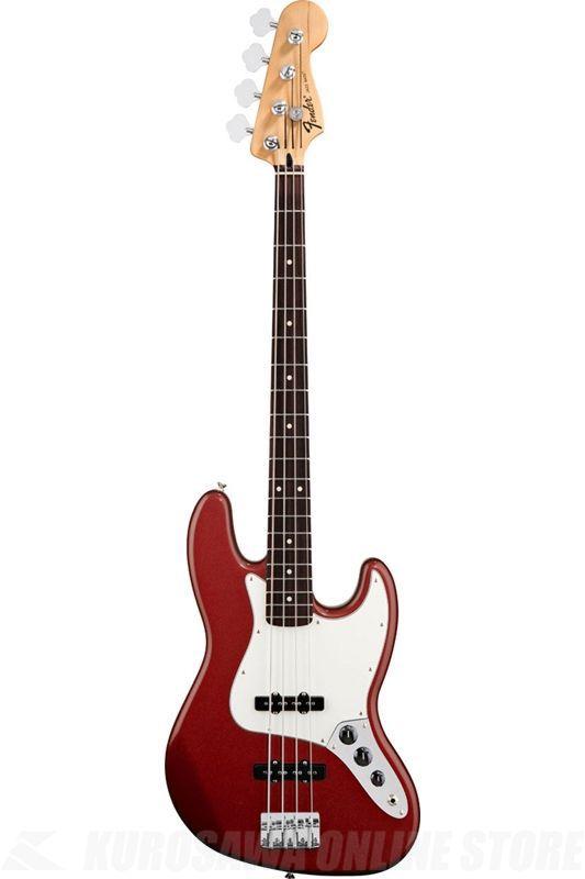 Fender Standard Series / Standard Jazz Bass, Pau Ferro Fingerboard, Candy Apple Red/0146203509