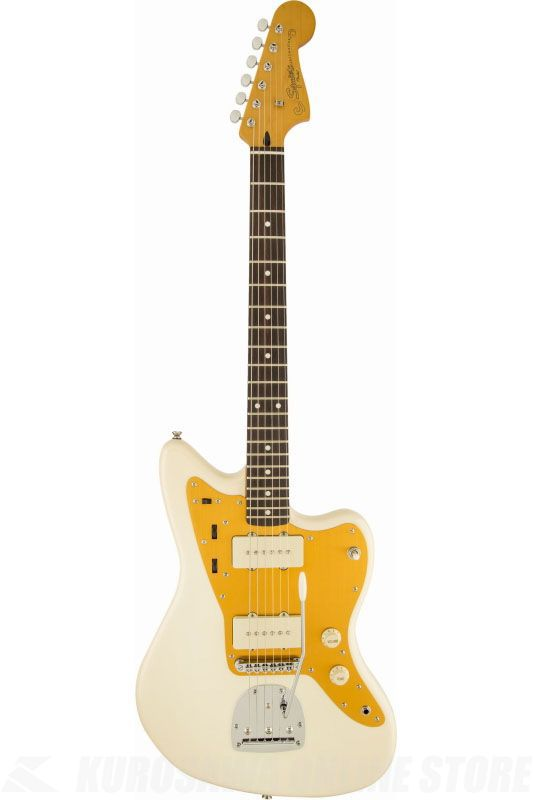 SQUIER J Mascis Jazzmaster, Rosewood Fingerboard, Vintage White《エレキギター》(納期未定・ご予約受付中)