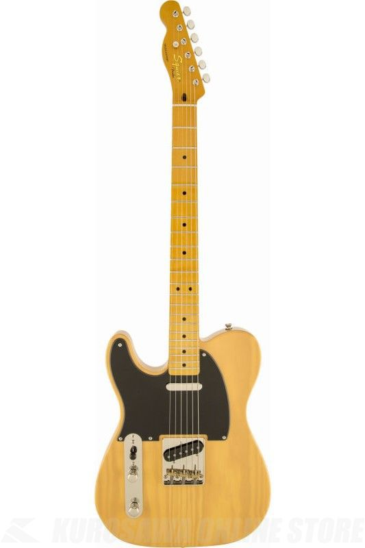 SQUIER Classic Vibe Telecaster '50s Left-Handed, Maple Fingerboard, Butterscotch Blonde《エレキギター》