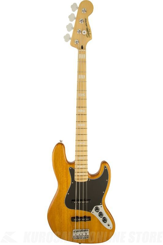 SQUIER Vintage Modified Models Series / Vintage Modified Jazz Bass '77, Maple Fingerboard, Amber《ベース》