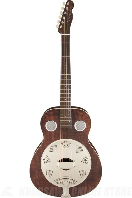 Fender Acoustic / Brown Derby Resonator, Brown Stain 《リゾネーターギター》