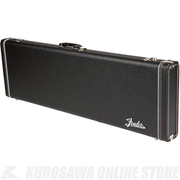 Fender Precision Bass Multi-Fit Hardshell Case, Black with Orange Plush Interior《ベース》